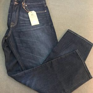 Men's Lucky brand jeans NWT 36/30 221 straight